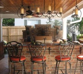 A kertben is építhetsz egy szellős konyhát a kánikula idejére