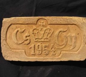 CS GY monogram évszámmal