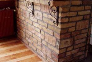 Bontott tégla belsőépítészeti ötletek